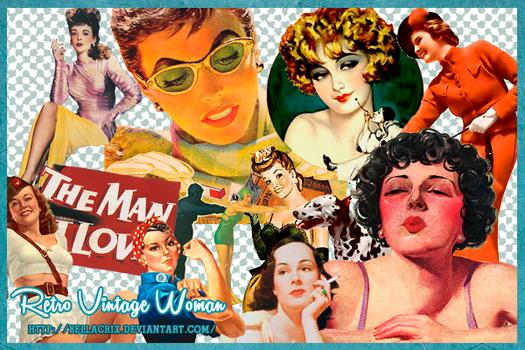 Retro Vintage Woman PNGs