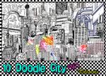 10 Doodle City PNGs