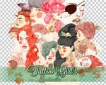 Tattoo Girls PNGs
