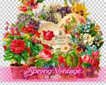 Spring Vintage PNGs