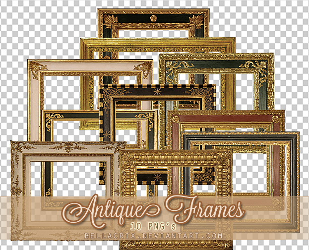 Antique Frames PNGs