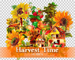 Harvest Time PNGs by Bellacrix