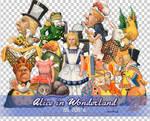 Alice in Wonderland PNGs
