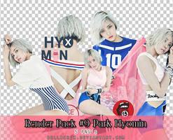 Render Pack #9 Park Hyomin Nice Body