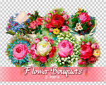 Flower Bouquets PNGs