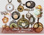 Clock Jewelry PNGs