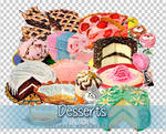 Desserts PNGs