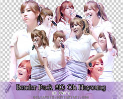 Render Pack #10 Oh Hayoung