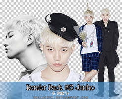 Render Pack #13 2PM Junho