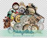 Vintage Clocks PNGs