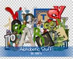 Alphabetic Stuff PNGs