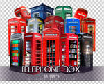 Telephone Box PNGs