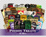 Poison Treats PNGs