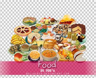 Food PNGs by Bellacrix