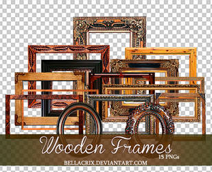 Wooden Frames PNGs