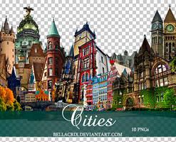 Cities PNGs