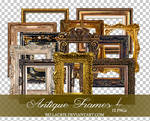 Antique Frames 4 PNGs