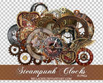 Steampunk Clocks 2 PNGs