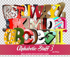 Alphabetic Stuff 3