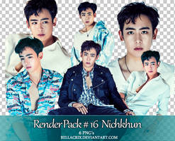 Render Pack #16 Nichkhun