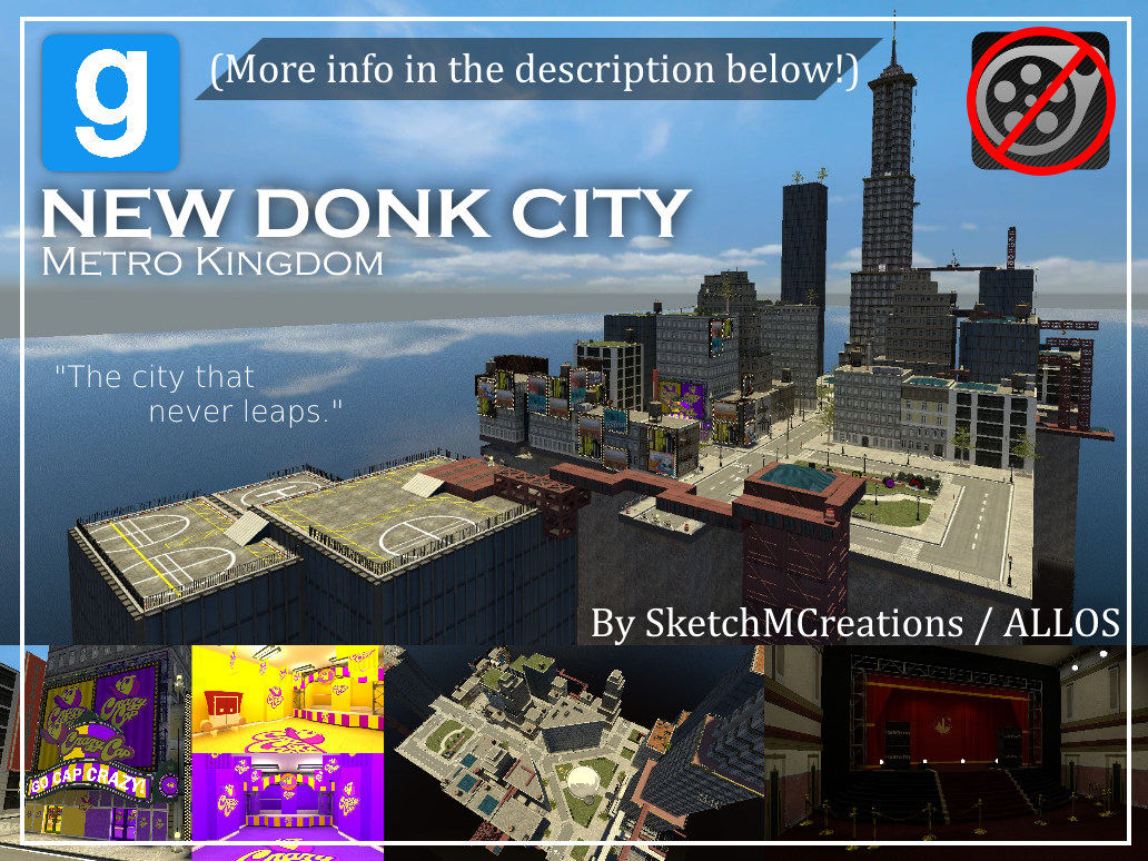 Map - New Donk City by SecminourTheThird on DeviantArt
