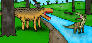 The Mesozoic World: Ep 1, Dawn Of The Dinosaurs.