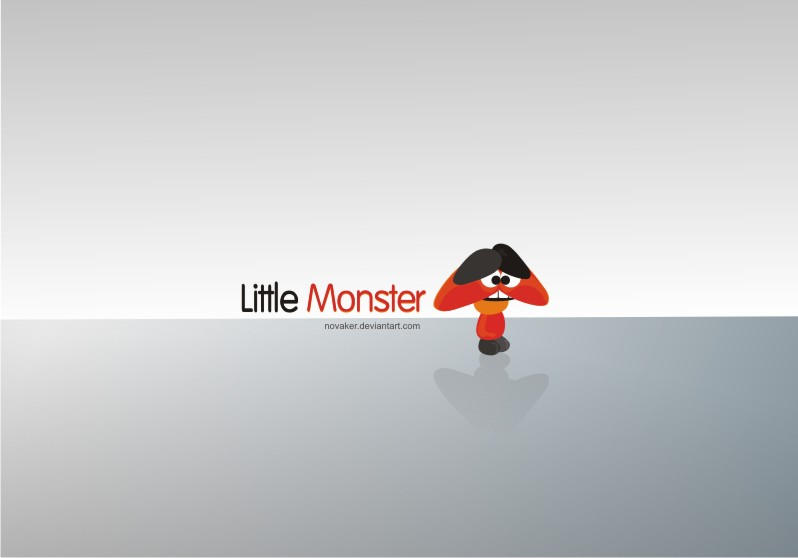 LITTLE MONSTER by Novaker