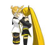 Hug pose