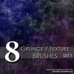 Grunge and Texture Brushes