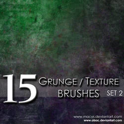 Grunge and Texture Brushes 2