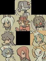 Skullgirls Icons by necyda