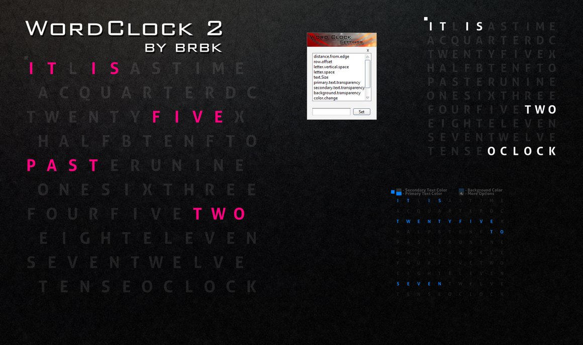 WordClock2 by brbk