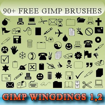 kostenlos brushes für gimp