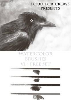 Watercolour Brushset 2015 Free