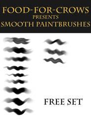 Smooth Paintbrushes - Free Set