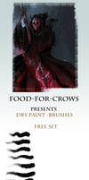 Dry Paint Brushes - Free Set by Food-For-Crows