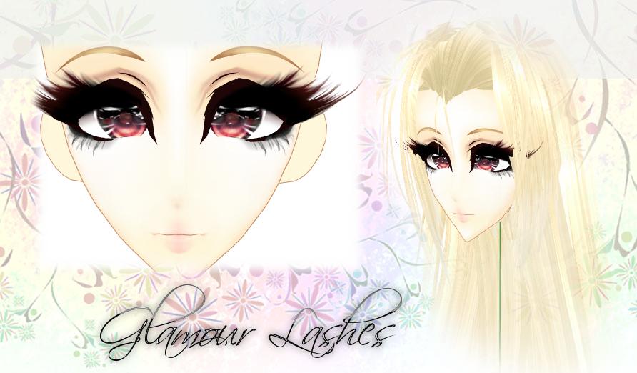 [MMD] Glamour Lashes - DL by DeidaraChanHeart