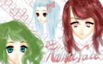 [MMD] Girl Anime Face DL