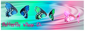 [MMD] Butterfly Wings DL -Update Transparency fix-