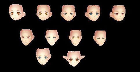 [MMD] Ar No Surge Face Pack -DL-