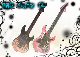 [MMD] Guitar DL by DeidaraChanHeart