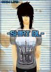 [MMD] Male T-Shirt -DL-