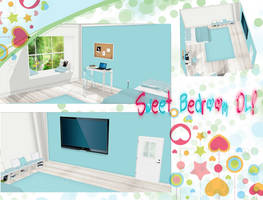 [MMD]Sweet Bedroom -DL- by DeidaraChanHeart