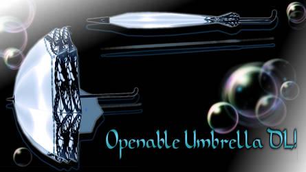[MMD] Victorian Umbrella -DL-