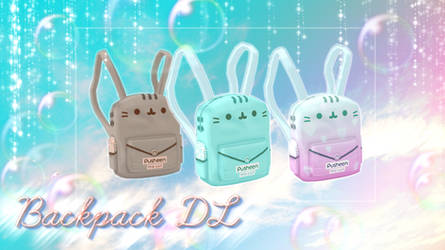 [MMD] -Kawaii-Bag-Pack- DL