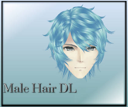 [MMD] Male Hair DL