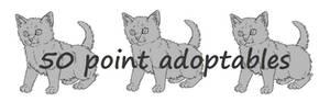 Kitten trio adoptables base - NOW FREE