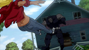 Supergirl VS Darkseid
