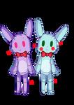 Bonnie and Toy Bonnie