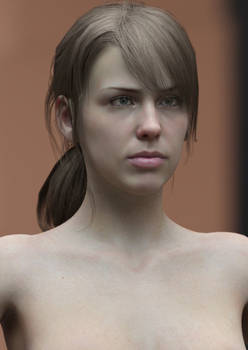 MGS V Quiet Head Morph for G8F